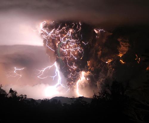 Lightningcano