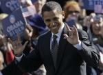 Obama's devil hands