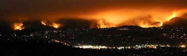 A 'Perfect' Tragic Storm -  L.A., California fires - 090830